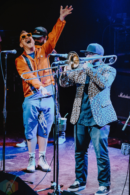 Reel Big Fish performs at the Phoenix Concert Theatre in Toronto